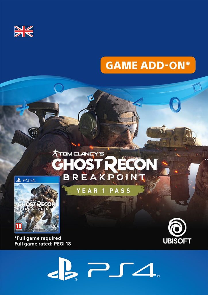Ghost Recon Breakpoint 1 Year Pass
