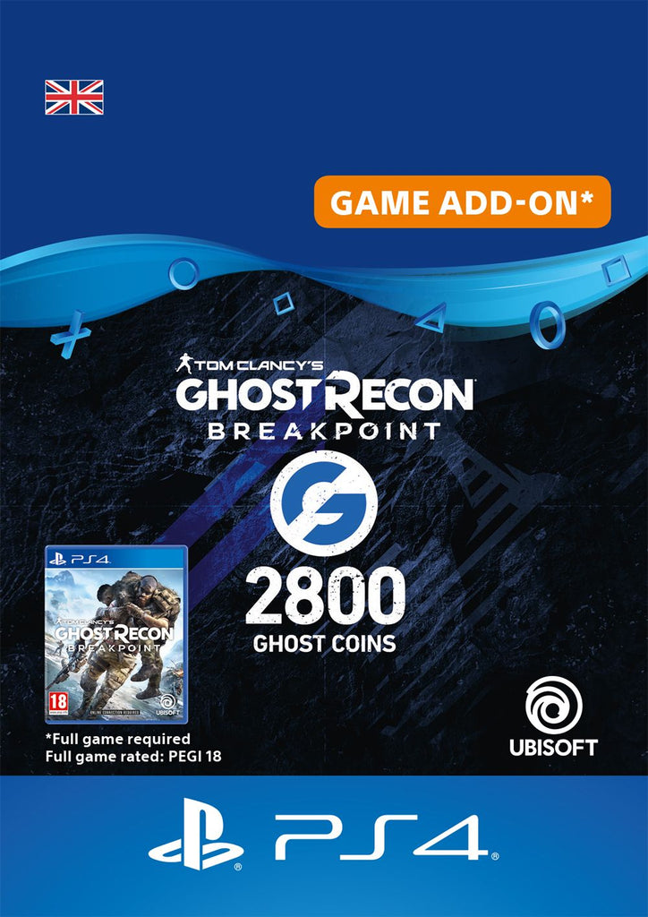 Ghost Recon Breakpoint 2800 Ghost Coins