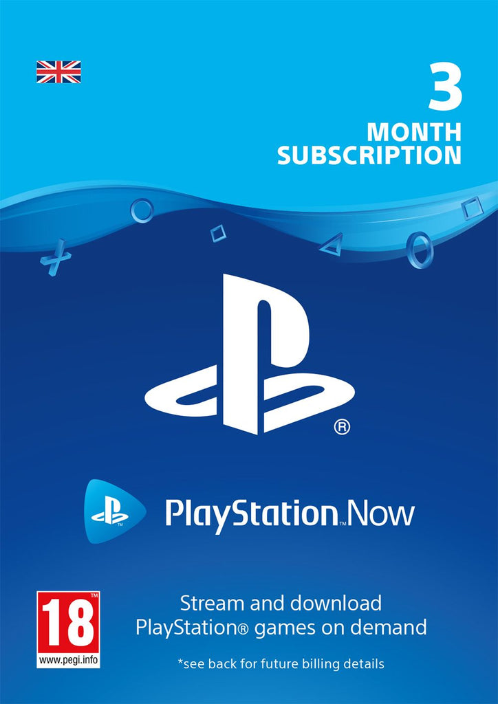 PlayStation Now 3 Month Subscription