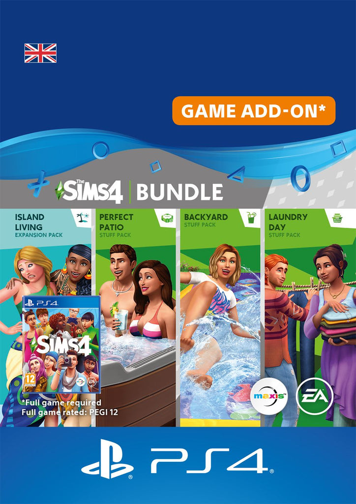 The Sims 4 Fun Outside Bundle