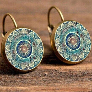 Fabiana's Mandala Earrings
