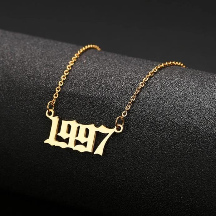 My Year Necklace