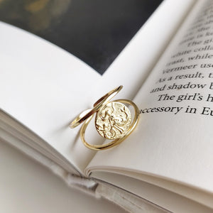 Khloe's Sterling Silver Coin Ring