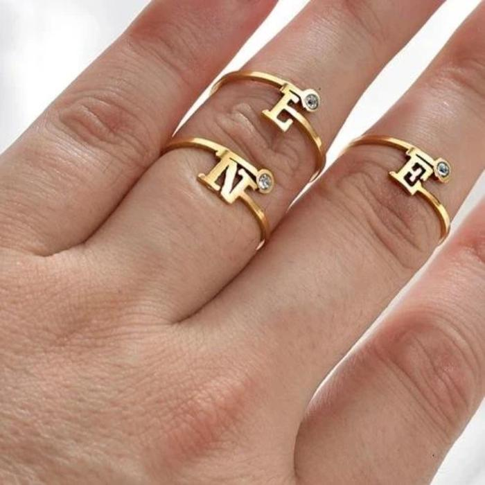 My Personalized Letters Ring