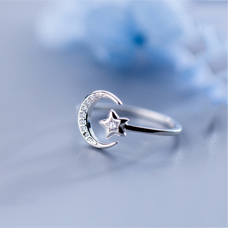 Kiana's Star Silver Ring