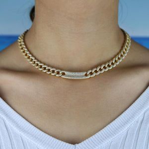 Kaia's Bling Link Necklace