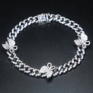 Calista's Bling Butterfly Anklet