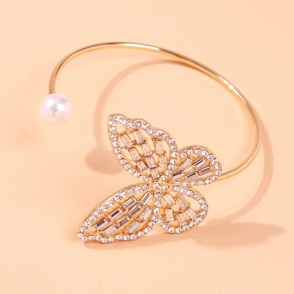 Virginia's Delicate Butterfly Bracelet