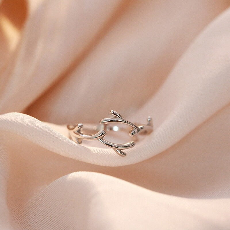 Ingrid's Silver Branch Ring