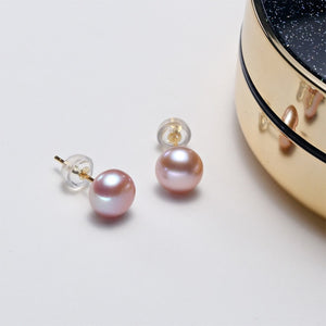 Alana's Sterling Silver Pearl Earrings