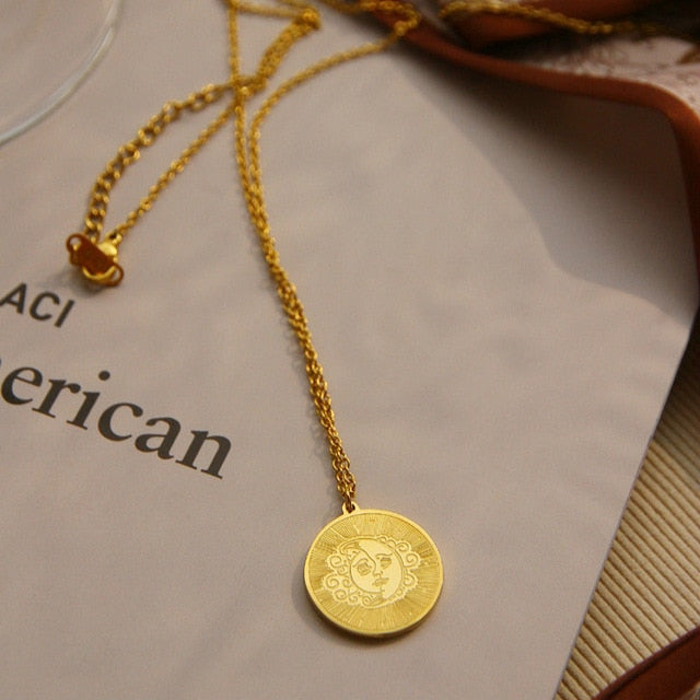 Victoria's Coin Pendants Necklace