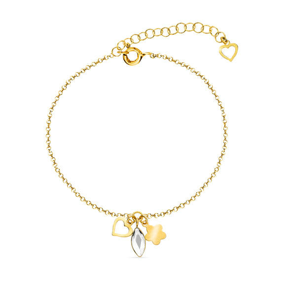 Pulcera Serenity Gold Cristal