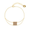 Pulsera Kingdom Gold Golden Shadow - Swarovski joyas