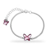 Pulsera Mariposa Light Rose