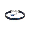 Pulsera Stripe Rock Bermuda Blue