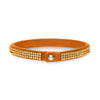 Pulsera Tennis Triple Golden Shadow