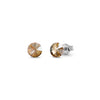 Aros Small Candy Studs Golden Shadow - Swarovski joyas