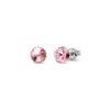 Aros Small Candy Studs Light Rose - Swarovski joyas
