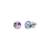Aros Small Candy Studs Vitrail Light - Swarovski joyas