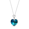 Collar Tender Heart Bermuda Blue