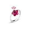 Anillo Flower Light Rose