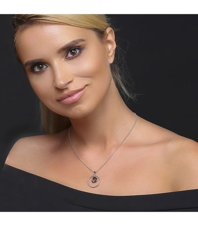 Collar Halo Vitrail Medium - Swarovski joyas