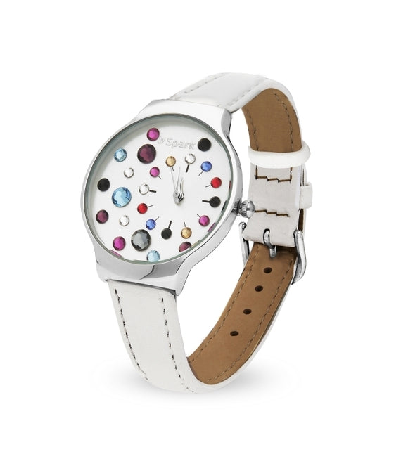 Reloj Lady Bug Mix y Blanco