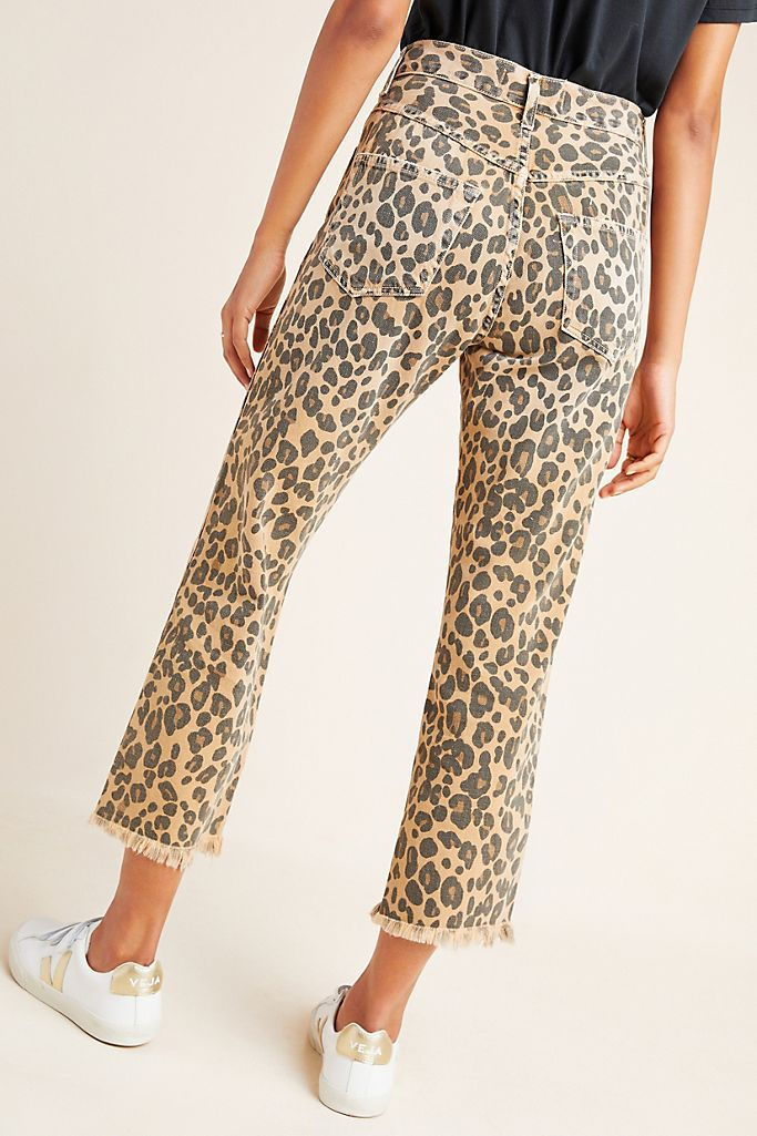 AMO Denim | Loverboy Leopard Print Denim Jeans sz. 25