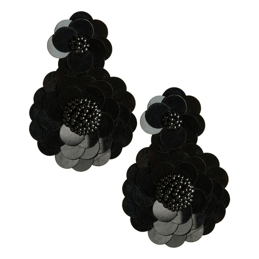 Ashley Earrings | Black