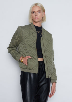 Open image in slideshow, Bevah Bomber Jacket
