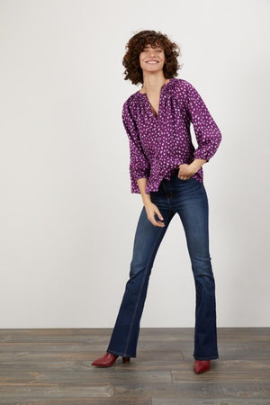 Open image in slideshow, Classic Blouse Lady Dot