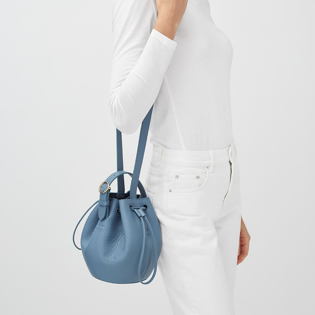 Cuyana | Mini Drawstring Bucket Bag