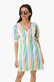 Diana stripe dress