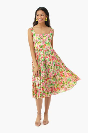 Open image in slideshow, Fiora Pleat Dress