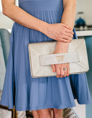 Open image in slideshow, Forever Classy Clutch in Fine and Dandelion