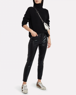 Open image in slideshow, FRAME | Le High Skinny Croc Embossed Jeans