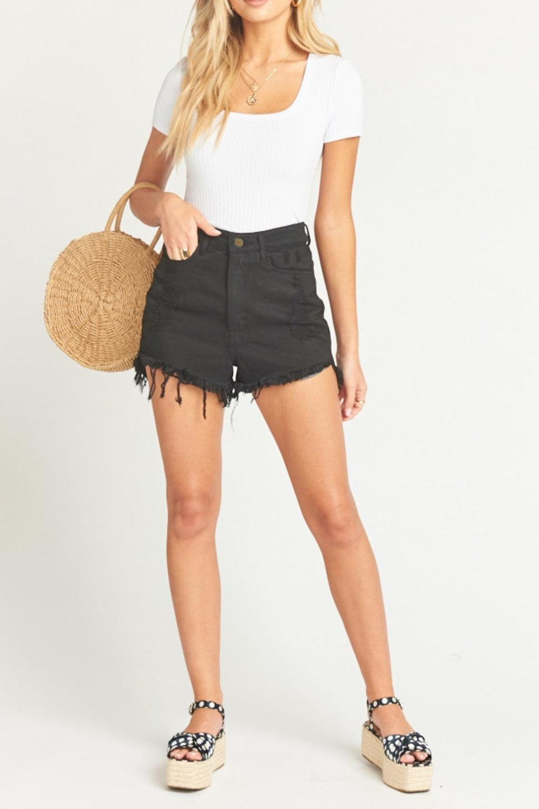 High Waisted Houston Shorts