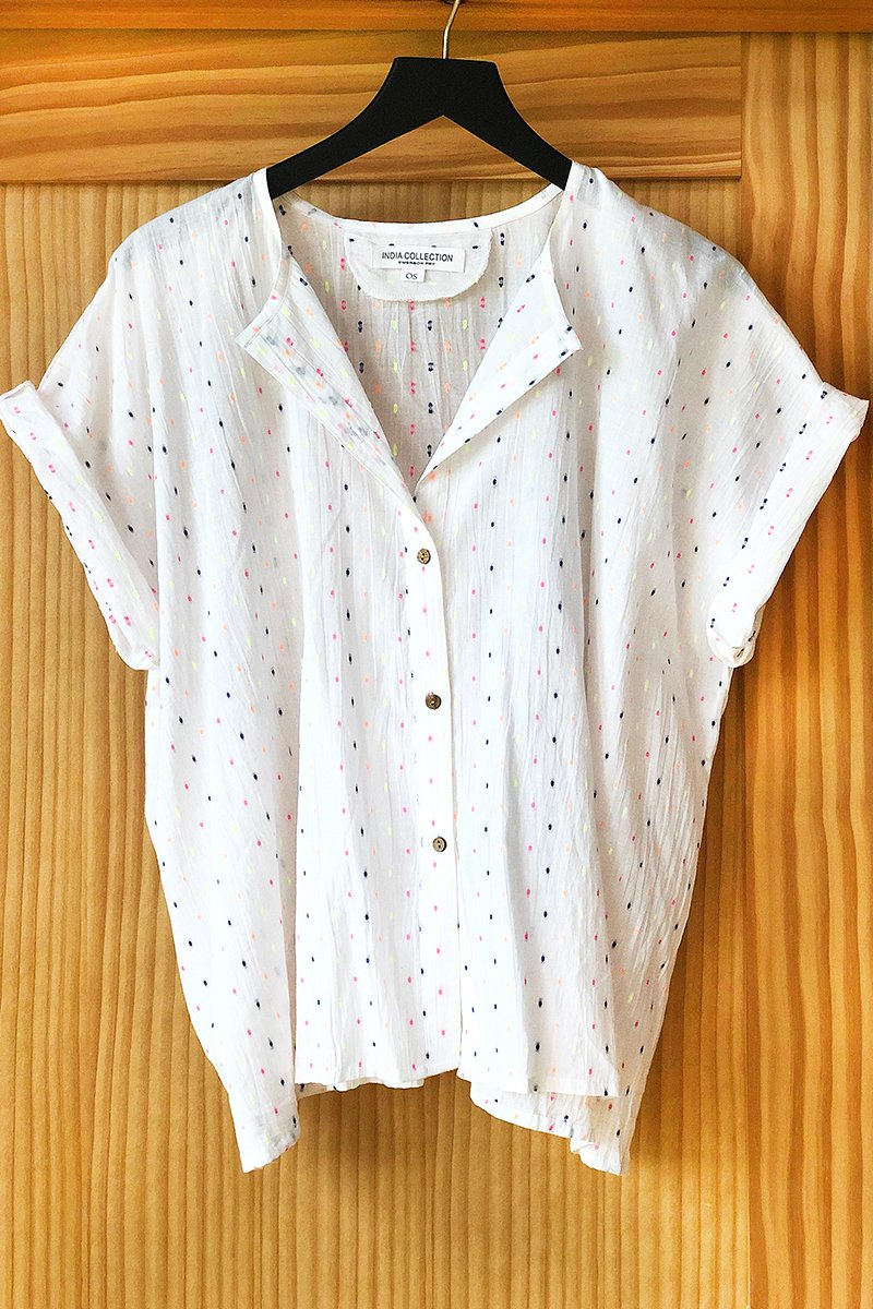 Confetti India button down by Emerson Fry