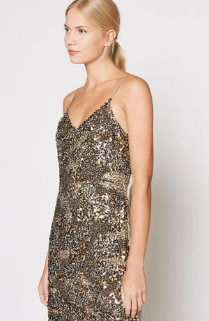 Open image in slideshow, Joie | Hasana Sequin Slip Dress