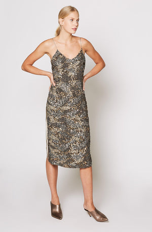 Joie | Hasana Sequin Slip Dress