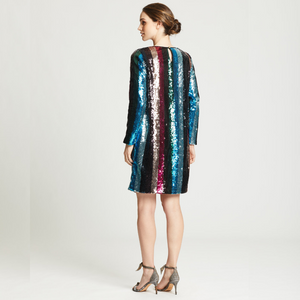Open image in slideshow, Marie Oliver | Lexi Sequin Stripe