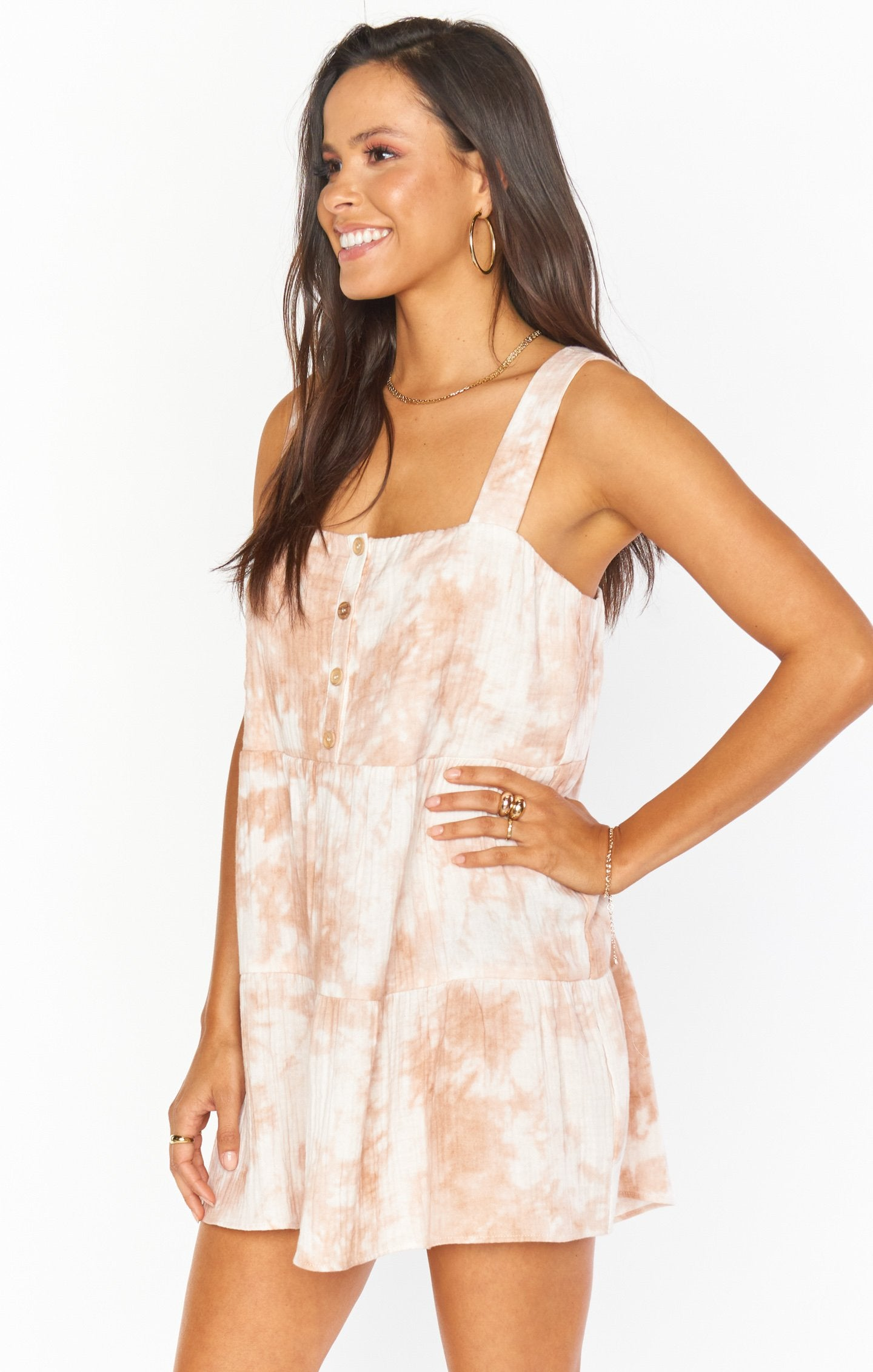 Marissa Dress | Twisted Tie Dye