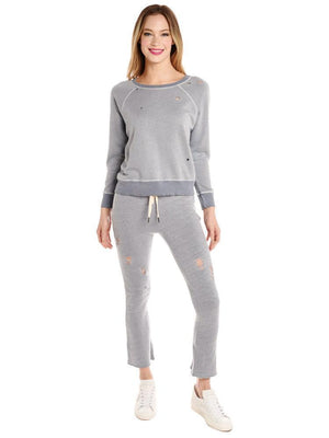 n:Philanthropy Nikkita Deconstructed Sweatpants Heather Grey