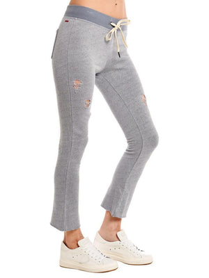 Open image in slideshow, n:Philanthropy Nikkita Deconstructed Sweatpants Heather Grey