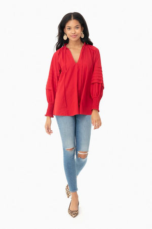Open image in slideshow, Rhode | Resort Ruby Sage Top