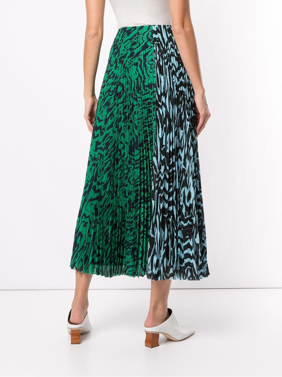 Solace London | Solace Pleated Midi Skirt