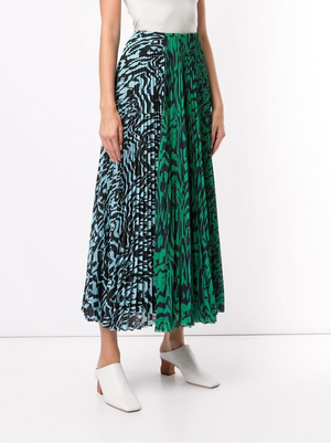 Open image in slideshow, Solace London | Solace Pleated Midi Skirt