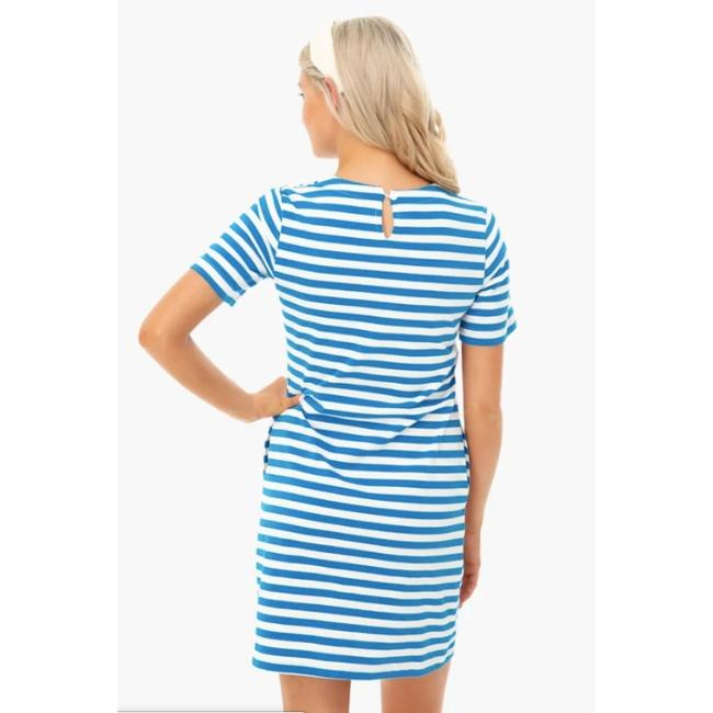 Stripe Stella Blue dress