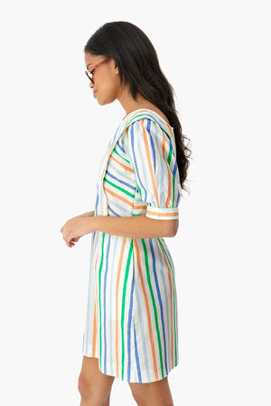 Open image in slideshow, Diana stripe dress