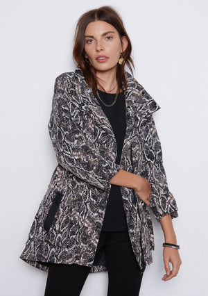 Open image in slideshow, Tart Cory Jacket | Black Python